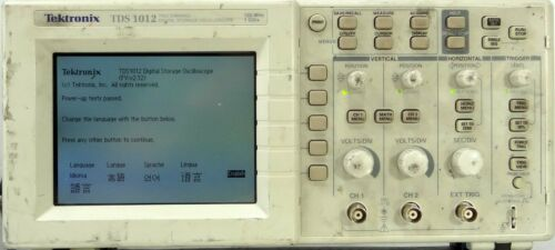 Tektronix TDS 1012 Two Channel Digital Storage Oscilloscope 100MHz 1GS/s