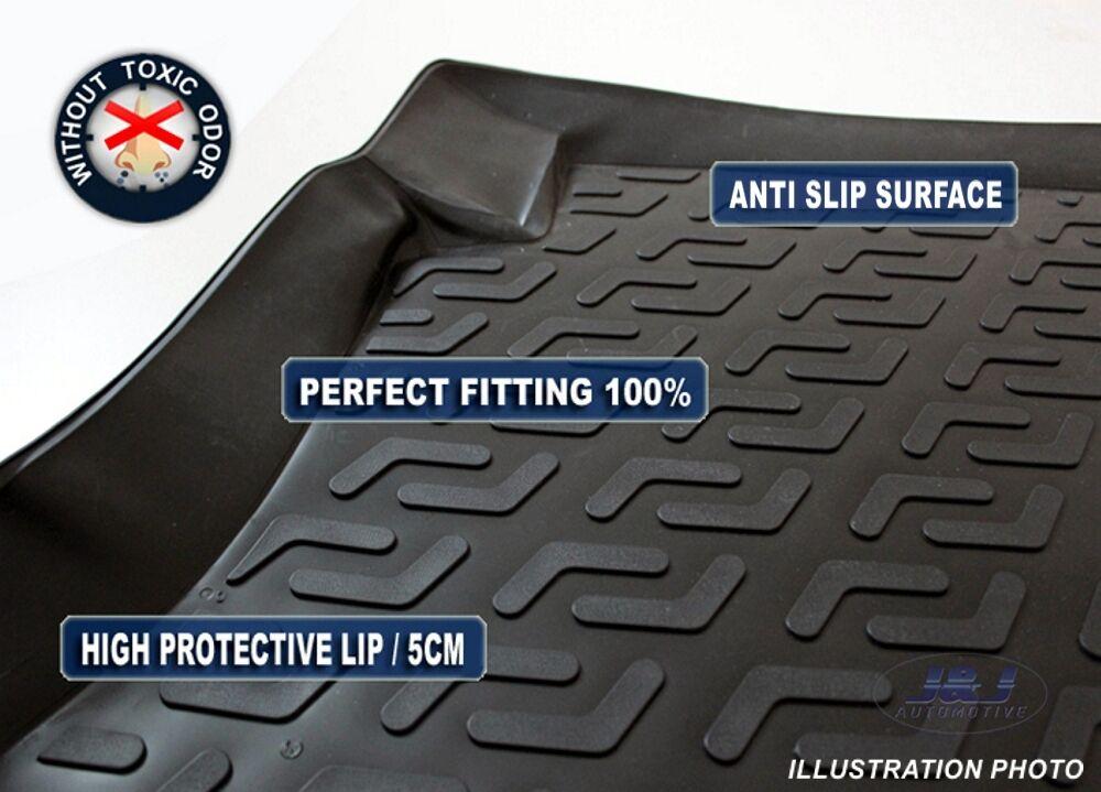Premium Rubber Boot Liner Mat Tray Protector Skoda Kodiaq