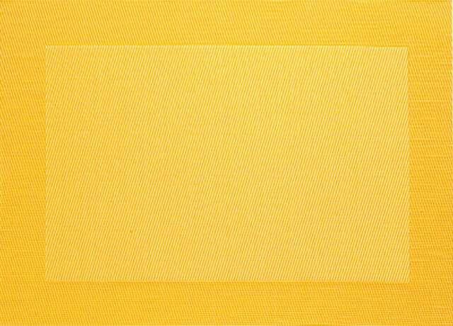 ASA SELECTION Table Top Tischset mit gewebtem Rand gelb Platzset