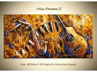 Original Music Instrument Painting