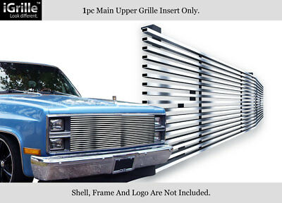 304 Stainless Steel Billet Grille Fits 1981-87 Chevy C/K Pickup/Suburban/Blazer