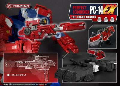 TRANSFORMERS 3rd PARTY UPGRADE KIT PC-14EX PC14 EX GRAND CANNON perfect combiner