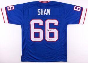 Signed Billy Shaw Buffalo Bills Jersey