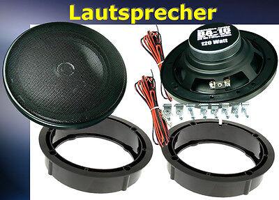 = Lautsprecher Einbau Set  passend für VW Golf 4 vorne  240Watt ~
