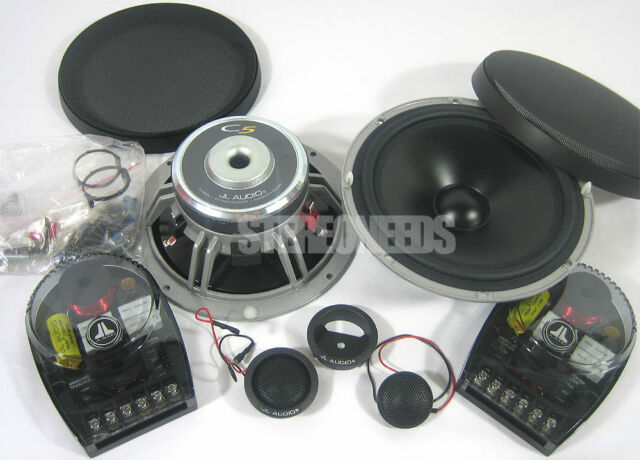 NEW JL AUDIO C5-650 6.5 INCH CAR COMPONENT SET SYSTEM SPEAKERS TWEETERS C5650
