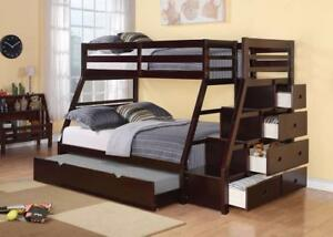 MEUBEL.CA   $999 - STAIR CASE BUNK BED