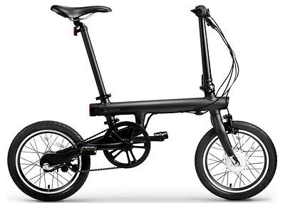 "XIAOMI MI QICYCLE ELECTRIC FOLDABLE BLUETOOTH LITHIUM 16"" BICYCLE W TRANSFORMER"