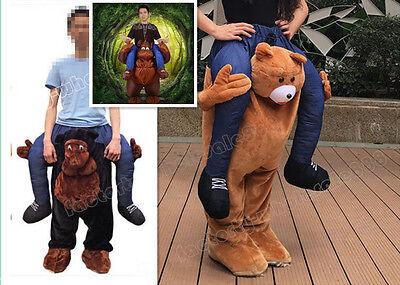Adults Teddy Bear Mascot Handmade Chimpanzee Halloween Fancy Costumes Funny - Funny Bear Costumes