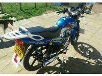 Lexmoto arrow 125cc motorbike 2014 up for a swap