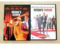 2 DVD's: ocean's eleven & ocean's twelve Altona - Hamburg Othmarschen Vorschau