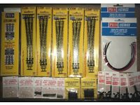 PECO 'N' GAUGE TRACK (points) AND ACCESSORIES as listed.