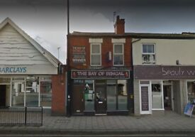 Established Fast Food Shop Takeaway Restaurant Business For Sale - 2 Bedroom Flat Upstairs Included