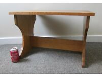 Coffee table Table Vintage style small old school style wooden table FREE DELIVERY