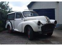 Morris Minor 1000 Traveller Classic Car Restoration