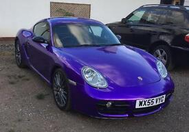 Cadbury Purple Porsche Cayman S**quick sale needed**