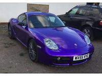 Cadbury Purple Porsche Cayman S**quick sale needed**