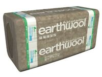 New Knauf Earthwool Building Slab RS45 50mm thick insulation 4 packs 10 slabs per pack
