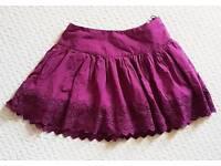 *** Jack Wills Skirt Purple size 8 New ***