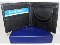 RALPH LAUREN WALLET BROWN SMALL HORSE - POST ANYWHERE IN THE UK £3 EXTRA