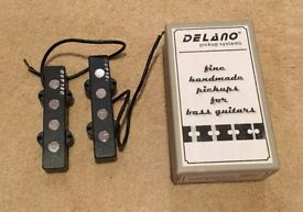 Delano JMVC 4 FE/M2 jazz bass pickups with box