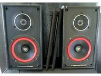 Cerwin Vega VE-5M Bookshelf speakers.