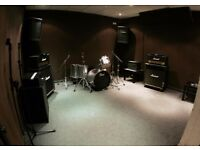 Rehearsal Studio share with ONE other band - £300 a month in Haggerston/Dalston