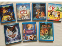 Disney Kids Family Blu Ray DVD Combi Packs Collection Bundle Beauty And The Beast Lady Tramp Oz More