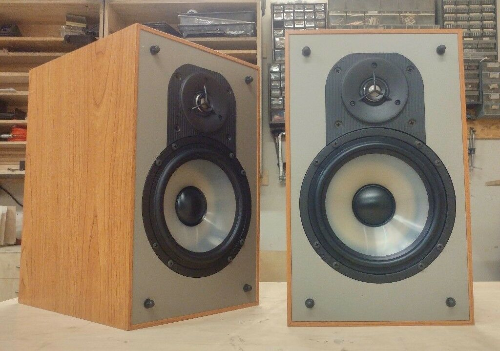 Paradigm Mini Monitor Bookshelf Speakers Boxed As New
