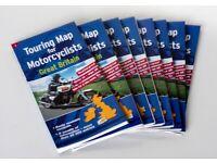 Full set of Waterproof Motorcycle Maps