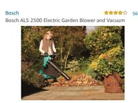 Bosch Electronic leaf blower and vacuum