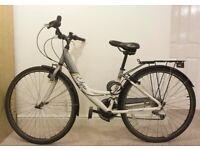 "Apollo Elyse Womens Hybrid Bike - Grey, 16"" - £60"