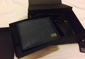 D&G Men's Wallet - Brand New with Box and Papers
