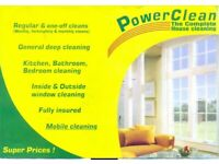 If you need a cleaning service! We can help 7 days a week!