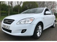 ★ FULL YEARS MOT ★ 2008 KIA CEE'D DIESEL 1.6 5dr ★ BEST COLOUR, like peugeot 307 astra skoda scenic