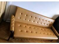 Retro / art deco style sofa bed