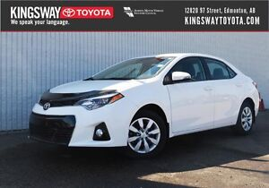 2016 Toyota Corolla S - Upgrade Package
