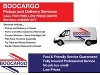 Man & Van Collection & Delivery Service. Home and Office Clearance/Removal & Garden Waste Disposal.