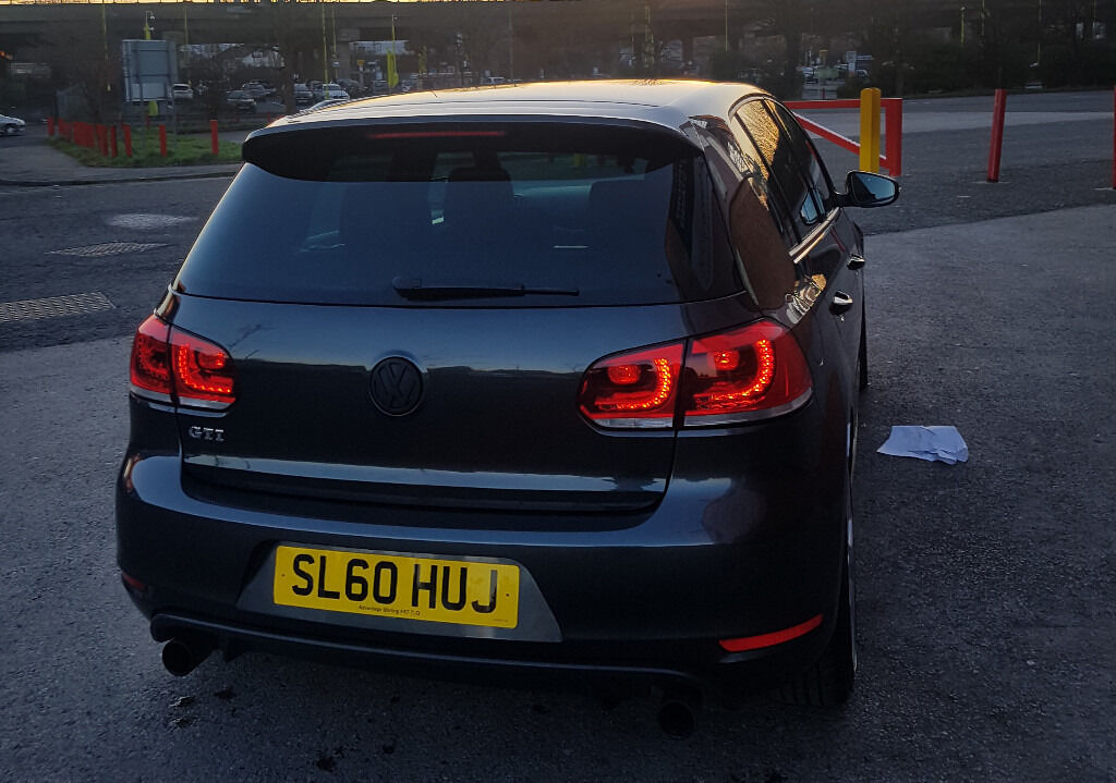 volkswagen golf gti mk6 carbon grey 5 door full vw service history not gtd s3 r tdi in. Black Bedroom Furniture Sets. Home Design Ideas