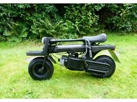 ITALIJET 50cc PACK 2 ..VINTAGE RARE FOLD UP SCOOTER.1981