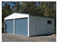 Shed Building Service:- Steel Box Tubing Sheds etc...
