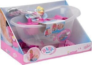 new baby born doll 39 s interactive bathtub with duck playset. Black Bedroom Furniture Sets. Home Design Ideas