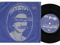 "Sex Pistols - God Save The Queen [UK Orig 1977] 7"" P/S Blue/White labels VG/EX"