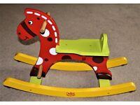 Child's Vilac Stormy Rocking Horse Rocker