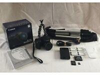 Canon PowerShot SX400IS 16MP Ultra Wide Angle 30x Zoom Bridge Camera Kit