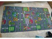 Road play mat 190x100cm