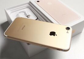 iPhone 7 - 128gb Gold - Few Months old (Nearly New)