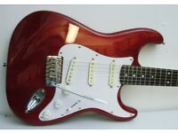 Stagg Strat type guitar