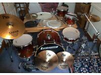 Drum kit - Ludwig CS Custom Elite - full kit with loads of extras! **£500 ONO**