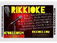 Rikkioke DJs - for your party or special event.
