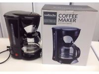 Coffee Maker £15 Sabichi 1.25 Litre - Brand New, Unused for £15 only- quick sale